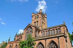 St John the Baptist church, Coventry. Royalty Free Stock Photo