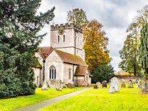 St John Baptist Church, poco Marlow, Buckinghamshire fotos de archivo libres de regalías