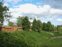 St John the Baptist Church in Suzdal royalty free stock image
