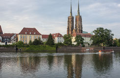 St. john the baptist church wroclaw poland europe Stock Photography