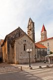 St John the Baptist church (XIII c.). Trogir, Croatia Royalty Free Stock Images