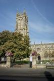 St John Baptist Churchyard Entrance, Glastonbury Immagine Stock Libera da Diritti