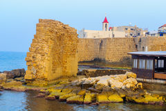 St. John the Baptist Franciscan church, Acre Akko Stock Images