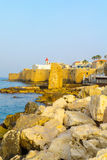 St. John the Baptist Franciscan church, Acre Akko Stock Image