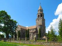 St. John the Baptist Roman Catholic Church. In Latvia Stock Images