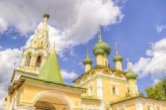 St John Baptist Uglich di natività della chiesa della Russia Fotografia Stock