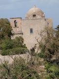 St John The Baptists church, Erice, Sicily, Italy Royalty Free Stock Photos