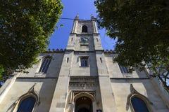 St John baptysta, Windsor Farny kościół zdjęcie royalty free