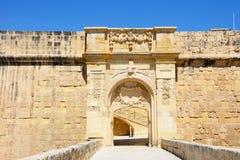 St John bastion, Vittoriosa obrazy royalty free
