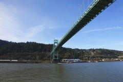 The St. John bridge. Stock Photo