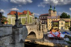 St. John Bridge in Klodzko, Poland Royalty Free Stock Image