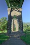 St. John Brug, Portland, Oregon Royalty-vrije Stock Foto's