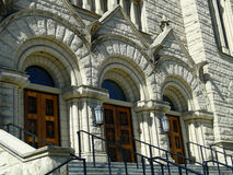 St. John Cathedral - Boise, Idaho Stockfotografie
