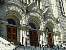 St. John Cathedral - Boise, Idaho Stock Photography