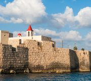 St. John church in Acre Israel Stock Image
