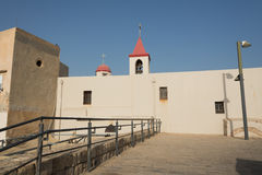 St. John Church in Akko Stock Image