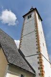 St John church on the Bohinj lake in Slovenia Stock Photography
