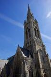 St. John church. Saint John's church in Bath. Lateral view royalty free stock photos
