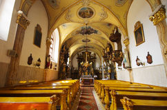 St. John churh in Spisske Podhradie, Slovakia Royalty Free Stock Images