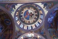 St John de Baptist Church Santorini Greece Stock Foto