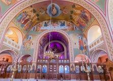 St John de Baptist Church Santorini Greece Royalty-vrije Stock Foto