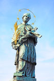 St. John de Nepomuk Fotografia de Stock Royalty Free