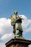 St John de Nepomuk Imagen de archivo libre de regalías