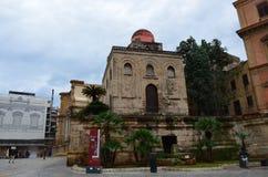 St John des dômes d'ermites, Palerme photo libre de droits