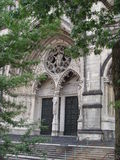 St. John the Divine Church. Main entrance of St. John the divine in Harlem, New York Royalty Free Stock Photos