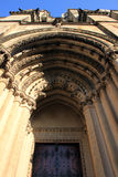 St John the Divine - New York. Entrance door to St John the Divine cathedral, upper west side Manhattan stock photography
