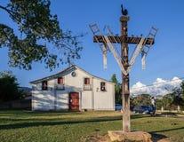 St John Evangelist Church Tiradentes Brazil photographie stock libre de droits