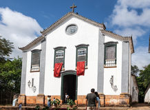 St John Evangelist Church in Tiradentes BrazilBraz Stock Image