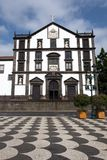 St John Evangelist College Church. In Funchal on the Portuguese Island of Madeira Stock Image