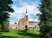 St. John Fisher College stock photography