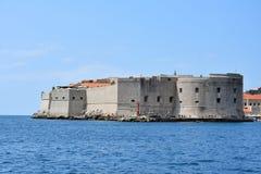 Fort Sv  Ivan in Dubrovnik Royalty Free Stock Photo