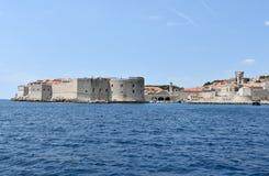 Fort Sv  Ivan in Dubrovnik Stock Images