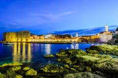 St John Fortress, Dubrovnik, Croácia Fotografia de Stock