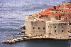 St. John Fortress, Dubrovnik, Kroatien Fotografering för Bildbyråer