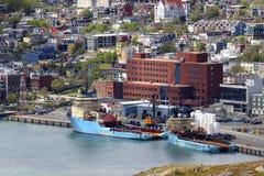 St John haven, Newfoundland, Canada Royalty-vrije Stock Foto