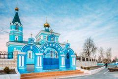 St John het klooster van Korma - kerk in Korma, Wit-Rusland Beroemd of royalty-vrije stock fotografie