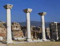 St. John historical site in Izmir Royalty Free Stock Photography