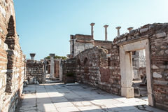St. John historical site Royalty Free Stock Images