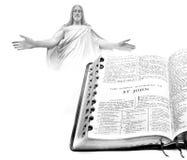 St John Jesus för ny testament för bibel Arkivfoton