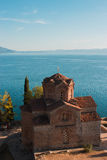 St. John Kaneo, Ohrid Lizenzfreies Stockfoto