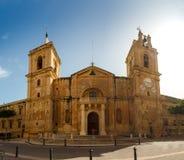 St John katedra w Valletta Obrazy Royalty Free