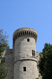 St John knights castle at Rhodes Island. Greece Stock Images