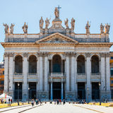 St. John Lateran basilica. Basilica di San Giovanni in Laterano Royalty Free Stock Images