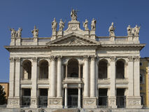 St. John Lateran Basilica in Rome Royalty Free Stock Photography