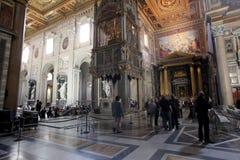 St. John Lateran i Rome arkivfoto