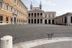 St. John Lateran in Rome Royalty Free Stock Images